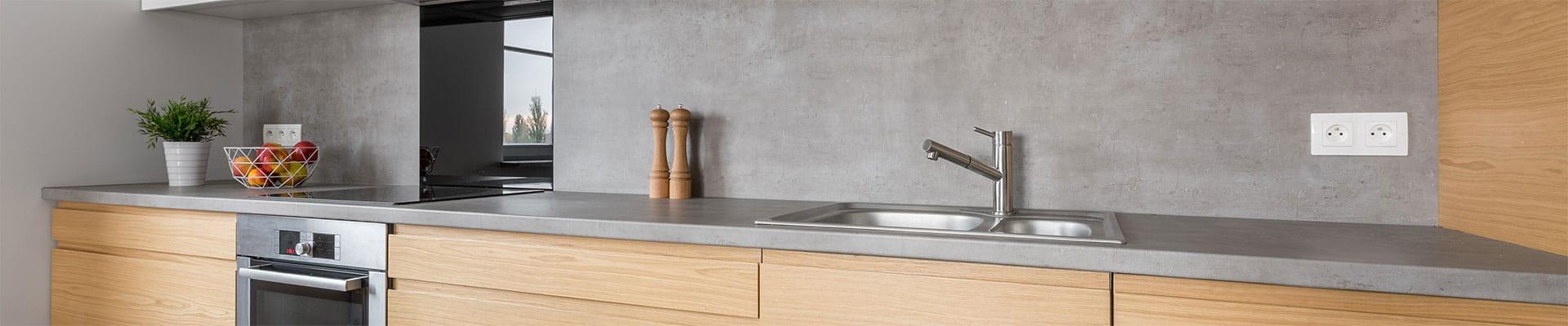 Renover le plan de travail de votre cuisine avec du mortex bio construct - Renover plan de travail cuisine ...